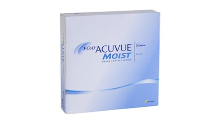 johnson & johnson ONE DAY ACUVUE MOIST 90pck